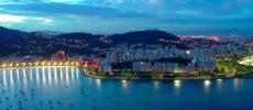 Рио-де-Жанейро - вид на ночной город