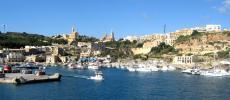Мальта - остров Гозо - паром - фото