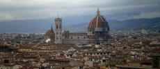Флоренция с высоты полета - фото