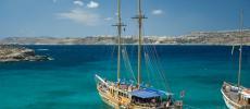 Комино - остров Мальты - фото