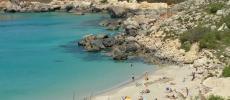 Мальта - пляж Парадайз - Paradise Bay