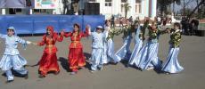 Женский национальный костюм - Азербайджан