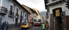 Улицы города Кито - фото