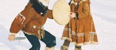 Национальный костюм жителей камчатки