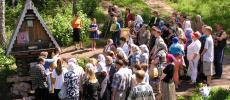 Святой источник в Ложок, что в 70-ти километрах от Новосибирска - фото sibintour.ru