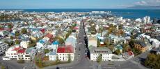 Рейкьявик - столица Исландии - фото
