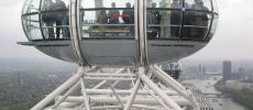 London Eye - Вид изнутри