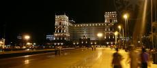 Ночной Баку - картинки