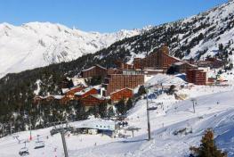 Лез Арк - самый центр французских Альп