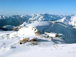В Ле Дёз Альп проблем со снегом нет!