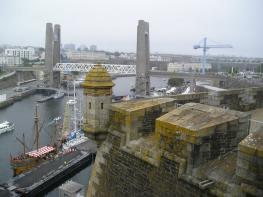 Брест — важный торговый и военный порт на Атлантическом океане