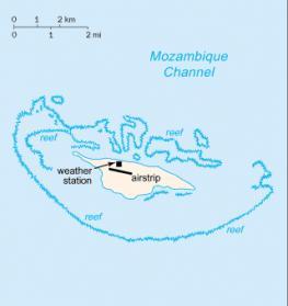 Жуан ди Нова - остров в Мозамбикском проливе