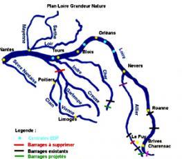 Loire — самая большая река во франции