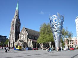 Крайстчерч - город Новой Зеландии