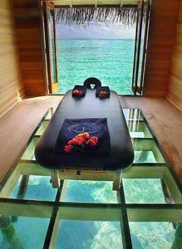 Спа - лечение на курортах Мальдив