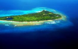 Аквапарк на Мальдивах