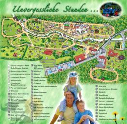 Парк развлечений для детей Фрайцайтпарк Лохмюле