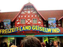 Фрайцайт-Ланд Гайзельвинд - очень интересный парк ля детей