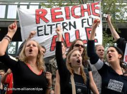 Введение платы за обучение в Германии