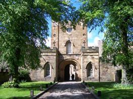 Даремский замок - Durham Castle - включен в список мирового наследия ЮНЕСКО