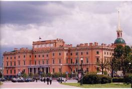 Михайловский замок - одно из самых загадочных сооружений Санкт-Петербурга