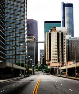 Атланта - крупный экономический центр Юго-Востока