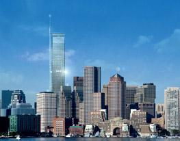 Город Бостон - столица штата Массачусетс