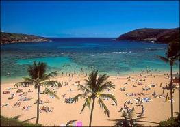 Оаху - третий по величине и наиболее населенный остров Гавайского архипелага