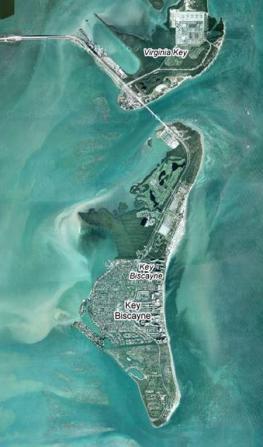 Ки Бискейн - Key Biscayne - настоящий райский уголок с белоснежными песчаными пляжами