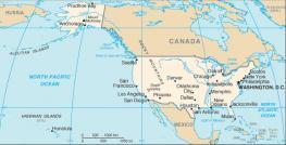Географическое положение США