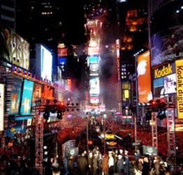 Новый Год в Нью-Йорке - как лучше всего отметить