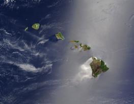 Гавайские острова - имеют вулканическое происхождение