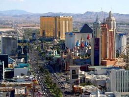 Лас-Вегас - одна из популярных достопримечательностей США