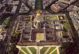 Париж - комплекс Дома Инвалидов вместе с Эспланадой