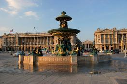 Париж, Франция: площадь Мадлен - Place de la Madeleine