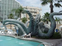 """В собственном парке развлечений отеля """"Gaylord Palm"""" создано несколько участков, каждый стилизован под достопримечательности Флориды"""