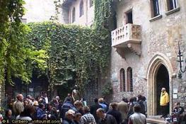 Дом Джульетты - Casa di Guilietta - очень популярная достопримечательность Италии