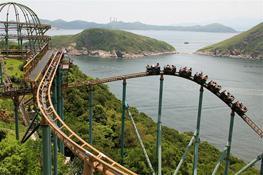 Океанский парк - Ocean Park - достопримечательность Гонконга