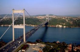 Мост через Босфор, соединивший европейский и азиатский берега Турции