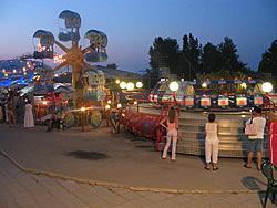 Парк аттракционов в Анапе
