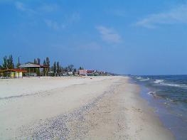 Затока- популярное место отдыха