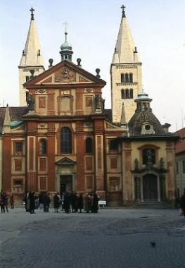 Прага: Монастырь св. Георгия
