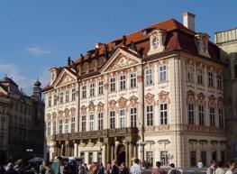 Прага: Дворец Кинских