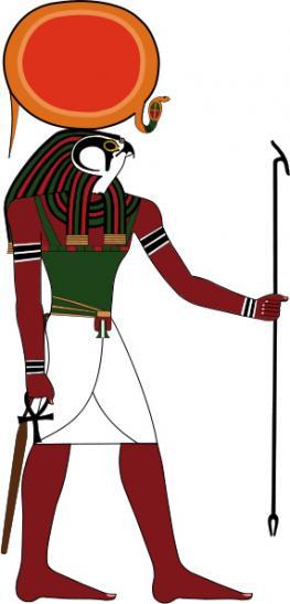 Бог солнца Ра - царь и отец богов