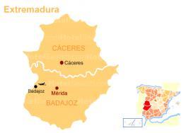 Экстремадура - Extremadura - автономная область Испании