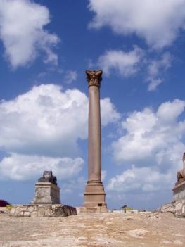 Помпейская колонна в Александрии (Египет)