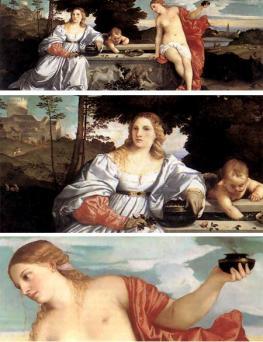 Тициан - Tizianо Vecellio - официальный художник республики