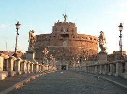 Замок св. Ангела - castel S.Angelo - архитектурный памятник