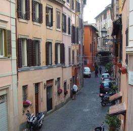 Трастевере - лабиринт узеньких улиц в Риме