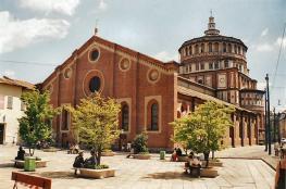 Санта-Мария-делле-Грацие - главная церковь доминиканского монастыря